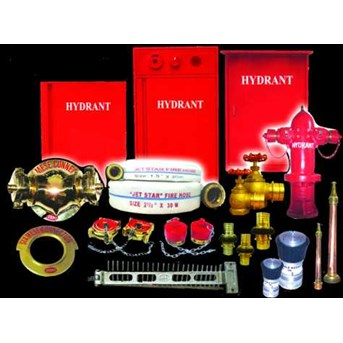 HYDRAN BOX, BOX HYDRAN, HYDRANT BOX INDOOR AND OUTDOOR, HYDRANT PILLAR ONE WAY, TWO WAY, THREE WAY, PERLENGKAPANNYA, FIRE HOSE SELANG KEBAKARAN, JET SPRAY NOZZLE BRANCH PIPE WITH TIP JET NOZZLE, ALL BRASS, HOSE RACK 24 COMB 1, 5, 2, 5 MACHINO COUPLIN