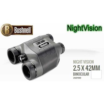 Bushnell NightWatch 2.5x 42mm Binocular 260400