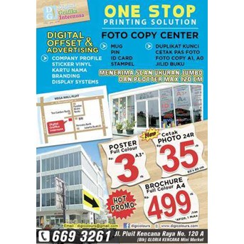 Printing ( percetakan) September Promo...! ! !