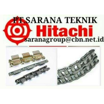 HITACHI ROLLER CHAIN PT SARANA HITACHI STAINLESS PIV ROLLER CHAIN ANSI & STANDARD HITACHI ROLLER CHAINS WITH ATTACMENT
