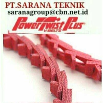 POWER TWIST BELT PLUS STOKIST PT SARANA TEKNIK FENNER DRIVES POWER TWIST BELT TYPE A B Z