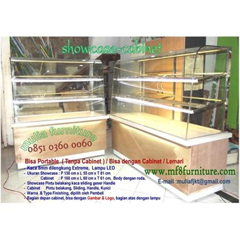 showcase, etalase, donut, roti, kue, snack, makanan, roti, cake, food display, bakery display, rak roti, etalase bakery, etalase, cake display