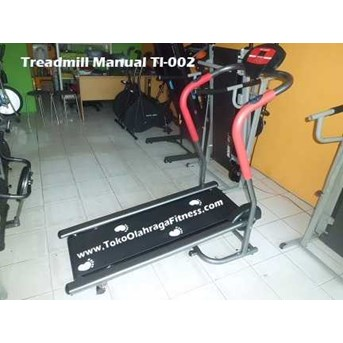 Jual Treadmill Manual TL-002 Bahan Anti Gores