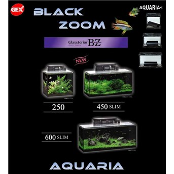 Akuarium GEX Glassterior BLACKZOOM BZ new series GEX Glassterior BLACKZOOM BZ new series Aquarium