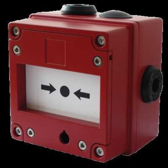 Explosion Proof Break Glass Call Point Jakarta ( Indonesia) Model : BExCP3A-BG