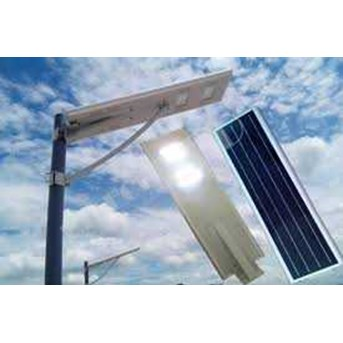 Lampu Penerangan Jalan Umum Solar Cell All in One 60 Watt
