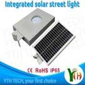 Integrated Solar Street Light 12 Watt Solar Street Light All In One Murah Jakarta