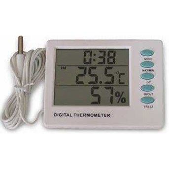 Digital Thermometer Hygro and Clock AMT-109