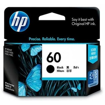 HP 60 Black Ink Cartridge