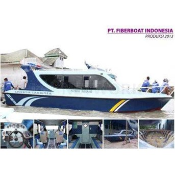 SPEED BOAT PATROLI 10 PENUMPANG