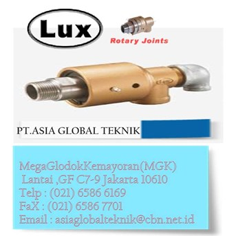ROTARY JOINT LUX, LUX ROTARY JOINT, PT ASIA GLOBAL TEKNIK
