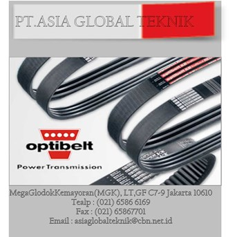 OPTIBELT BELT,BELT PRODUK.PT.ASIA GLOBAL TEKNIK