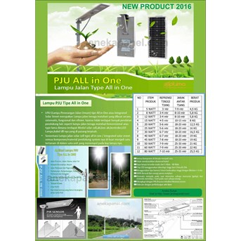 Paket PJU Surya All In One