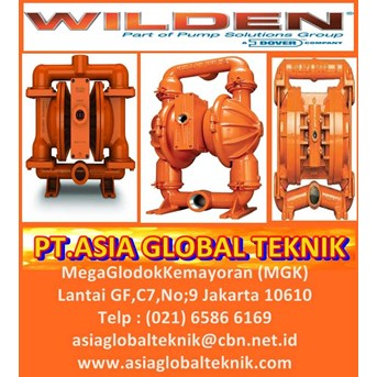 DIAPHRAGM PUMP WILDEN,WILDEN DIAPHRAGM PUMP,PT.ASIA GLOBAL TEKNIK
