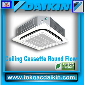 AC CASSETTE DAIKIN NON INVERTER ROUND FLOW 2 PK ( WIRED, WIRELESS )