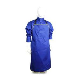 Royal Blue Flame Retardant Apron RDM-716008B