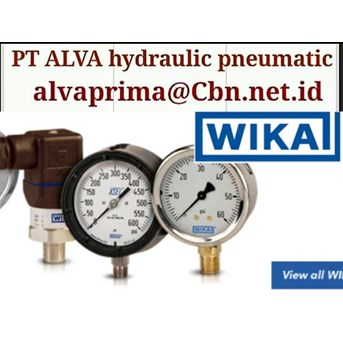PT ALVA WIKA PRESSURE GAUGE SWITCH WIKA PNEUMATIC