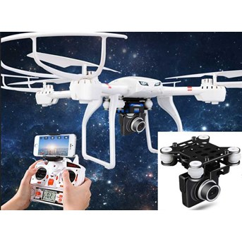 MJX X101 + Camera C4008 FPV HD real time/RC drone 2,4GHZ 6axis