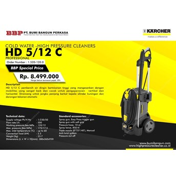 Karcher HD 5/12C High Pressure Washer Karcher Profesional