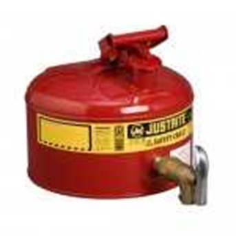 Justrite Safety Dispensing Cans Red & Yellow