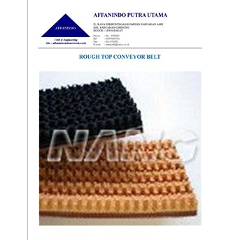 DISTRIBUTOR, AGEN, SUPPLIER, ROUGH TOP BELT CONVEYOR
