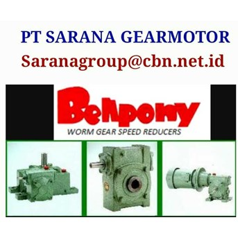 Gear Reducer Worm Gear Single Stage Type PA
