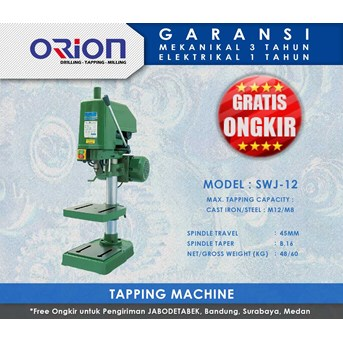 Orion Tapping Machine-SWJ-12