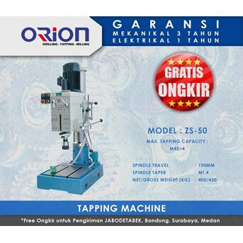 Orion Tapping Machine-ZS-50