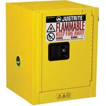 Justrite Safety Cabinet Sure-Grip® Ex Countertop 8904001