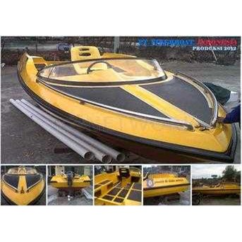Jual Speed Boat Fiber