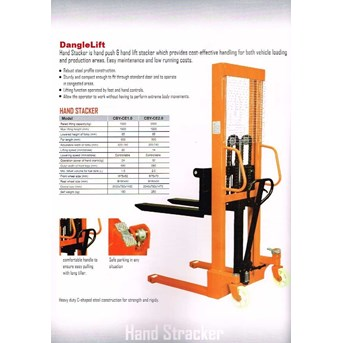 Stacker Manual Hydroulic