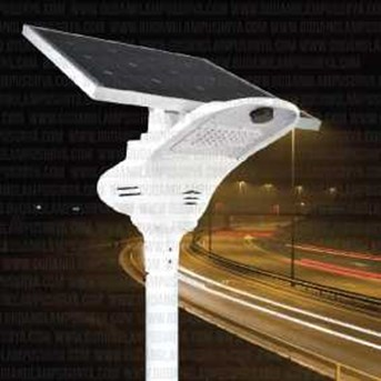 Penerangan Jalan Umum Smart Solar Street Light - SM Series (SM-OPT-20)