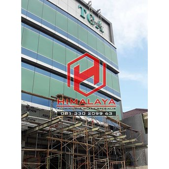 Pasang Curtain Wall Palembang