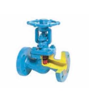 TECOFI – R5263 GLOBE BELLOW VALVE-CAST STEEL-FLANGED PN40