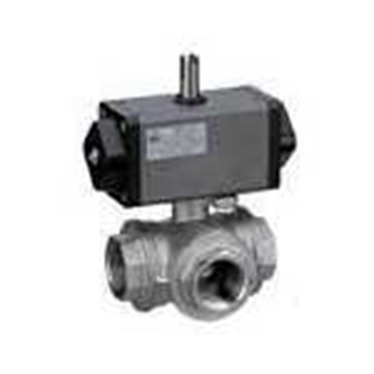 BEE- 3 Way Automatic Ball Valve Made Of Brass Or Stainless Steel