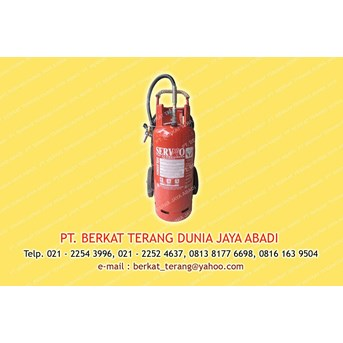 FIRE EXTINGUISHER ABC Dry Powder kap. 50 kg merk SERVVO