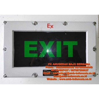 Emergency Exit Ex Proof HELON BBD51 LED Exit Signal Lamp