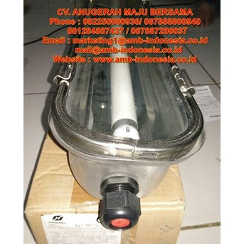 Lampu TL Ex Proof Stainless Steel Warom BJY Flourescent Lamp