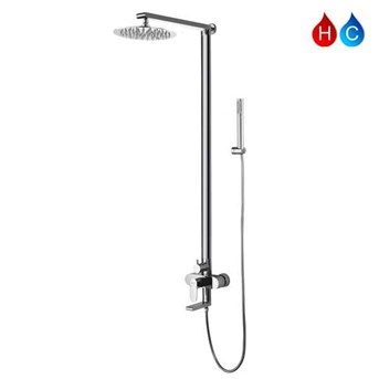 AER Mixer Bathub Shower Set Panas-Dingin MBS-3