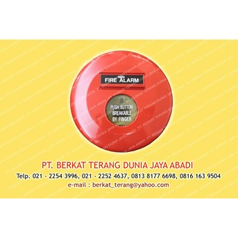 MANUAL PUSH BUTTON 2W tanpa base merk APPRON