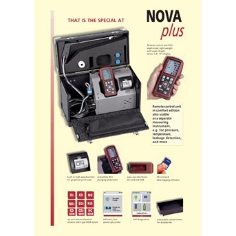 flue gas analyzer MRU - NOVA PLUS