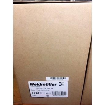 Weidmuller PRO ECO 72W 24V 3A Power Supply