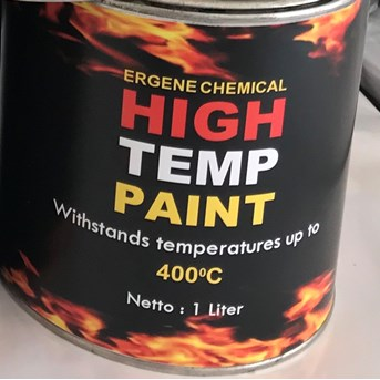 Cat Tahan Panas 400 DERAJAT - HIGH TEMPERATURE - HEAT RESISTANT PAINT