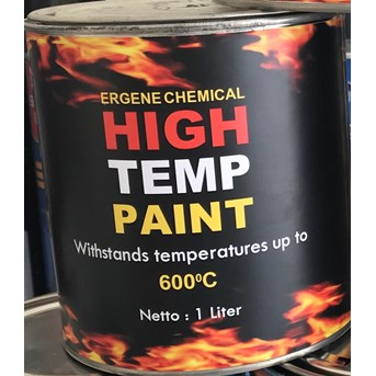 Cat Tahan Panas 600 derajat - High Temperature - Heat Resistant Paint