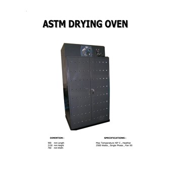 ASTM DRYING OVEN
