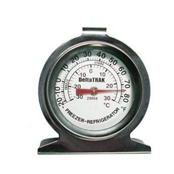 Freezer-Refrigerator Thermometer 29004 Deltatrak USA