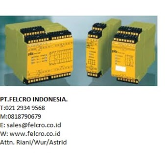 Pilz Indonesia|PT.Felcro Indonesia|0818790679|sales@felcro.co.id