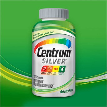 Centrum Silver Adults 50+, 325 Tablets