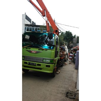 RENTAL CONCRETE PUMP MINI / pompa Kodok (FORTABLE)