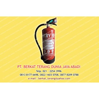 FIRe EXTINGUISHER ABC Dry Powder kap. 6 kg merk SERVVO